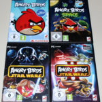 4 PC SPIELE BUNDLE - ANGRY BIRDS SPACE & - Occasion StarWars