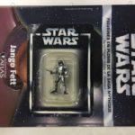 Figurine StarWars : star wars figurine en plomb jango fett n25/60 neuve blister fascicule atlas