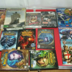 lot de 16   jeux  PC  WARCRAFT  GILDWARS  - Bonne affaire StarWars