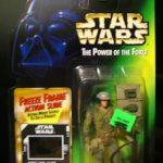 Figurine StarWars : Figurine Star Wars neuve neuf!Le pouvoir de la force!Soldat rebelle Endor!!!!!!!