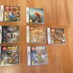 Lot de 7 jeux Nintendo DS : star wars, Harry - Occasion StarWars