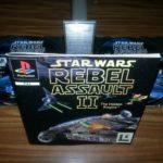 JEUX PS1 PS2 STAR WARS REBEL ASSAULT II / - pas cher StarWars