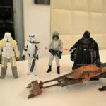 StarWars figurine : Lot Empire Star Wars figurines hasbro scout vader snowtrooper