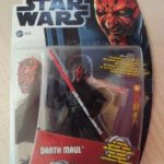 StarWars figurine : STAR WARS MOVIES HEROES - DARTH MAUL  EPISODE 1   2012 HASBRO