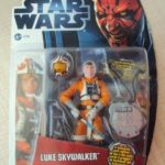 Figurine StarWars : STAR WARS MOVIES HEROES - LUKE SKYWALKER PILOTE HOTH SNWOTROOPER 2012 HASBRO