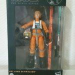 StarWars figurine : Star Wars Black Series 6-Inch Luke Skywalker pilote #01 (Orange Line).