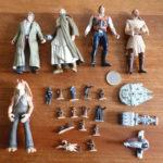 StarWars collection : Lot de 22 figurines jouets STARWARS STAR WARS Kenner Hasbro