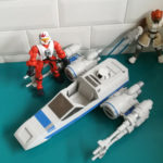 StarWars figurine : 19.9.8.10 figurine Star Wars super hero mashers Lot plo koon + X wing + pilote
