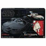"""StarWars figurine : Figurine BLACK SERIES X-34 LANDSPEEDER ET LUKE SKYWALKER BOX 6"""" figurine 15cm"""