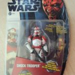 StarWars figurine : STAR WARS MOVIES HEROES - CLONE SHOCK TROOPER  EPISODE 3   2012 HASBRO