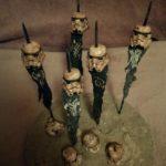 StarWars figurine : Diorama Maquette The Mandalorian Star Wars idem figurines Kotobukiya artfx+ 1/10