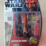 StarWars figurine : STAR WARS MOVIES HEROES - DESTROYER DROID 2012 HASBRO