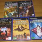 5 jeux playstation 2 PS2 - special Star wars - Avis StarWars