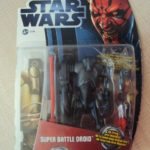 Figurine StarWars : STAR WARS MOVIES HEROES - SUPER BATTLE DROID EPISODE 1   2012 HASBRO
