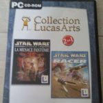 pc star wars la menace fantôme + racer - Bonne affaire StarWars