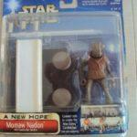 StarWars figurine : STAR WARS SAGA COLLECTION A NEW HOPE - MOMAW NADON & CANTINA BAR SECTION 2002