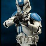StarWars figurine : Star Wars Figure Clone Trooper Deluxe: 501st Sideshow