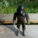 Figurine StarWars : Tie Fighter Pilot / Star Wars vintage Kenner ESB loose Complet Figurine 82*
