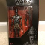 "StarWars collection : STAR WARS BLACK SERIES 6"" IG-11 Mandalorian Action Figure NEW IN BOX IN HAND"