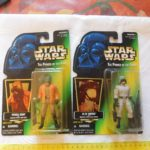 StarWars collection : lot de 2 1997 star wars the power of the force ponda baba, at-st driver