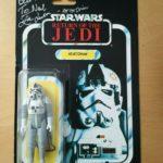 Figurine StarWars : Figurine Star Wars Vintage ROTJ AT-AT Driver MOC