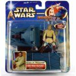 StarWars figurine : Star Wars Obi-Wan Kenobi Figure With Lightsabre Figurine Obi Wan Light Sabre