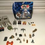 StarWars figurine : Star Wars Micro Machine Space Lot Of 11 Figurines + Pod Racers