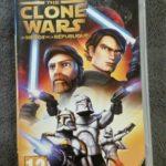 Jeu PSP STAR WARS THE CLONE WARS les héros de - jeu StarWars