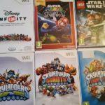 CONSOLE Wii   +  6 jeux wii  skylanders - jeu StarWars