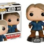 Figurine StarWars : Figurine Star Wars The Force Awakens - Han Solo Snow Gear Exclusive Pop 10cm