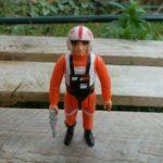 Figurine StarWars : Luke X Wing Pilot complet / Star Wars vintage Kenner ANH loose Figurine 78*