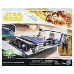 StarWars figurine : Star Wars Force Lien 2.0 Han Solo Landspeeder Hasbro Figurine Jeu Set