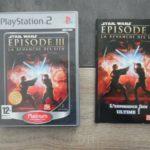 Jeu sony PS2: STAR WARS Episode III – la - jeu StarWars