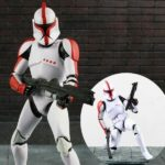 Figurine StarWars : Star Wars The Black Series Riot Control Red Clone Trooper Figure Figurine No Box