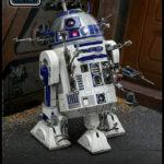 StarWars figurine : Hot Toys Star Wars R2-D2 de Luxe Version Diecast Action Figurine 1/6 Echelle