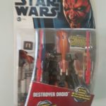 Figurine StarWars : STAR WARS FIGURINE DESTROYER DROID SÉRIE CLONE WARS SOUS BLISTER NEUF