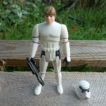 StarWars collection : Luke stormtrooper / Star Wars vintage Kenner Potf loose complet Figure Last 17*