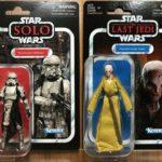 "StarWars figurine : Star Wars Vintage Collection 3.75"" Storrmtrooper (Mimban)+Supreme Leader Snoke"