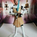 Figurine StarWars : STAR WARS FIGURINE OBI-WAN KENOBI SÉRIE THE CLONE WARS EN LOOSE NEUF