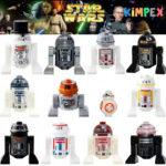 Minifigures figurines Star Wars Droides jeux - Bonne affaire StarWars