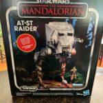 StarWars figurine : Star Wars Hasbro The Mandalorian AT-ST Raider With Figurine 2019 NIB
