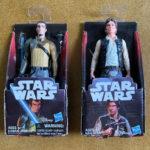 Figurine StarWars : Star Wars Hasbro Han Solo Kanan Jarrus Figurine Toys Set By Disney New In Box!