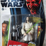 Figurine StarWars : FIGURINE Star Wars Movie Heroes Action Figure - Qui Gon Jinn  NEUF 2012