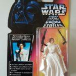 Figurine StarWars : STAR WARS FIGURINE PRINCESS LEIA DE 1995 THE POWER OF THE FORCE SOUS BLISTE NEUF