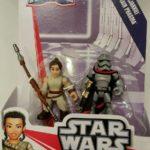 StarWars figurine : Star Wars Galactic Heroes Rey (Jakku) et Capitaine Phasma Action Figurines Neuf