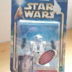"""StarWars collection : STAR WARS - Figurine """"R2-D2"""" avec alerte électronique sous blister 2002"""