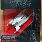 Figurine StarWars : Hasbro Star Wars The Black Series Titanium Series Rebel U-Wing Fighter #29