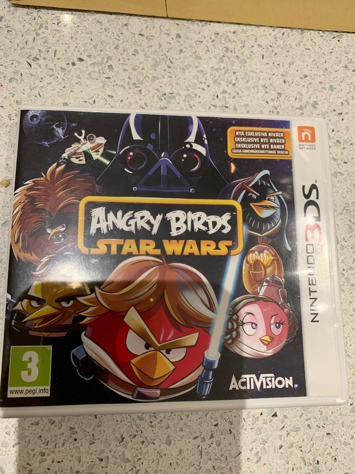Angry Birds: Star Wars | Nintendo 3DS Used - Avis StarWars
