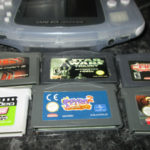 GBA CONSOLE WITH 6 GAMES SPYRO 2 SPIDER-MAN - pas cher StarWars