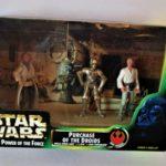 "StarWars figurine : Star Wars POTF ""PURCHASE of the DROIDS"" tri pack 1997 HASBRO"
